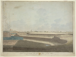South view of Calcutta, taken from the Glacis of Fort William